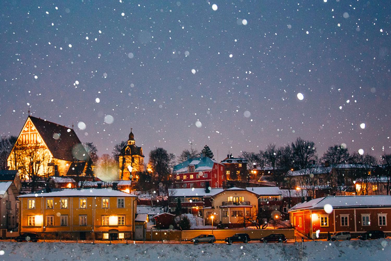 vanhan joulu 2018 Joulumarkkinat Porvoossa, majoitus Haikon kartano 14. 15.12. vanhan joulu 2018